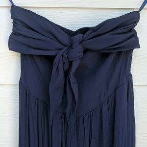 Navy blue Urban Outfitters romper